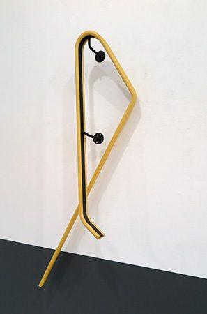 Hung over 2017, Stahl/PVC, 160x50x15 cm