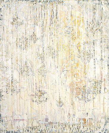 Weißer Sonntag Ölfarbe auf Leinwand, 2007, 160 x 130 cm