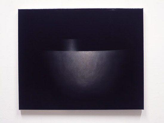 BX-07 2007, 75 x 93 cm, Ölfarbe und Dammar/ Leinwand