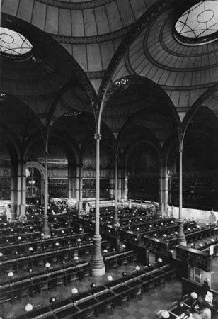 Bibliotheque Nationale, Paris, Frankreich 1989