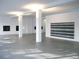 Ausstellung Norbert Frensch 2007 in der temporären Galerie Schwarz, Berlin, Friedrichstraße 210