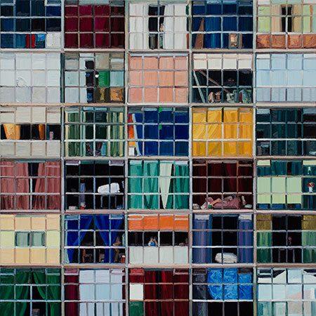 Copáne 23/V 2012, Öl/Leinwand, 200 x 200 cm