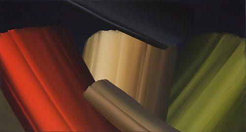 Three ages of man, 2010, Acryl auf Leinwand, 50 x 90 cm