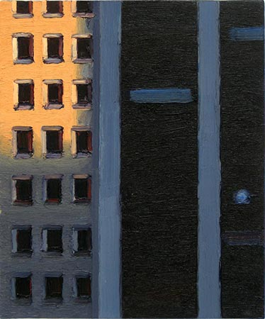 N.Y. 9/V 2001,60 x 50 cm, Ölfarbe / Leinwand