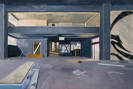 Athen 2017, 60 x 90 cm, Öl/Leinwand