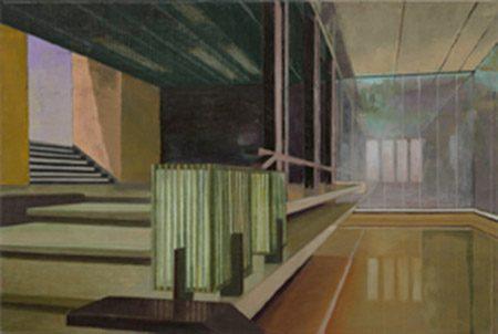 Dan 7 2017, 60 x 90 cm, Öl/Leinwand