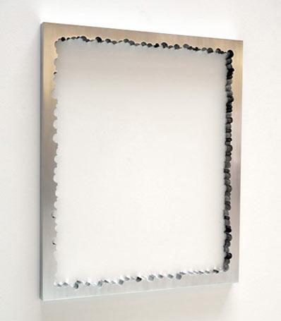 EX 2019, Aluminium, 120 x 100 cm