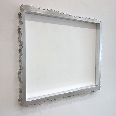 EX II 2019, Aluminium, 80 x 100 cm