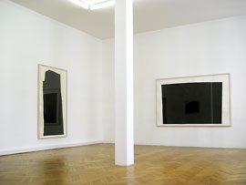 Ausstellung Richard Serra 2008 in den Räumen der Galerie Schwarz in Greifswald