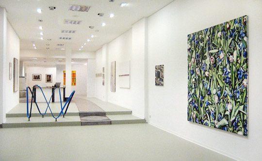 Ausstellung in den neuen Räumen der Galerie Schwarz in Greifswald