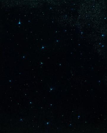 All stars 08 2013 – 2014, Öl auf Leinwand, 30 x 24 cm