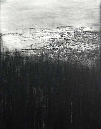 Hohes Land 2007, Öl/Lwd., 140 x 110 cm