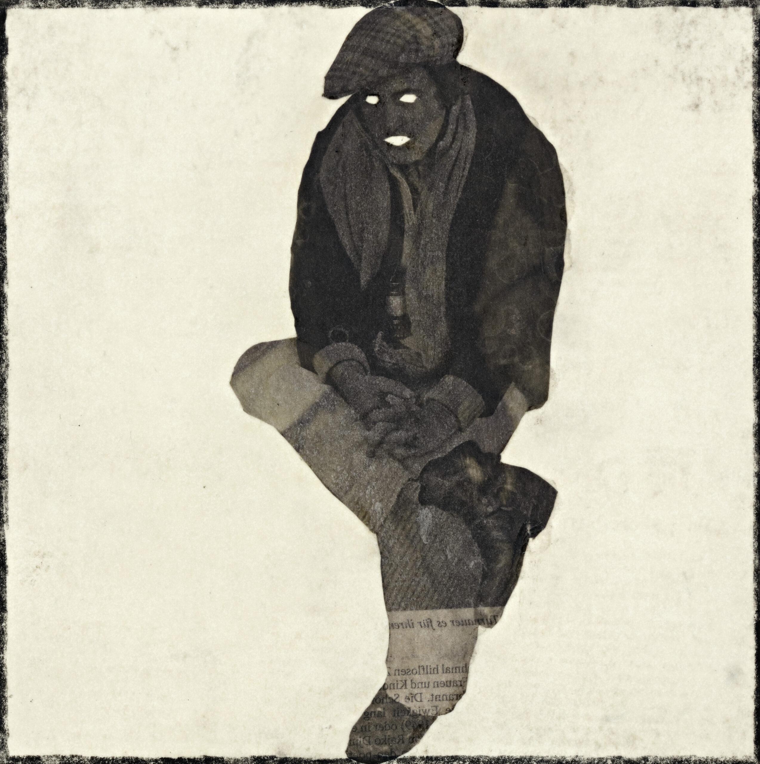 o.T., 27. Nov. 2018, Zeichnung auf Papier, 19,7x19,8 cm